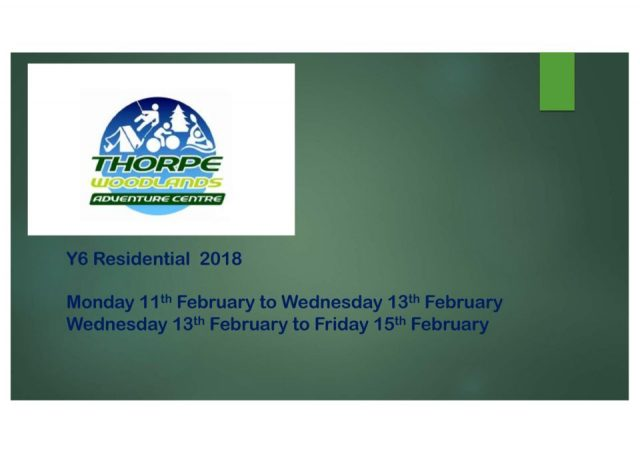 thumbnail of Thorpe Woodland Information for Parents