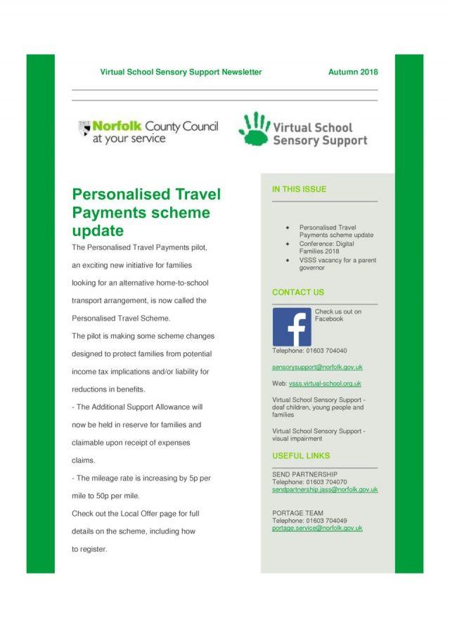 thumbnail of VSSS Newsletter Aut2 2018