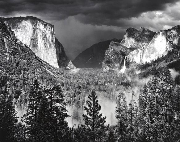 Thunderstorm, Yosemite Valley by Ansel Adams